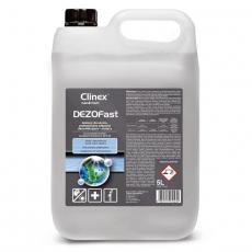 Środek do dezynfekcji powierzchni DezoFast poj. 5 l<br />model: 77-017<br />producent: Clinex