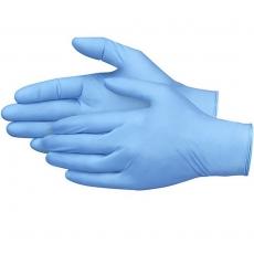 Rękawice jednorazowe nitrylowe niebieskie rozm. M - 100 szt.<br />model: 570975<br />producent: Fine Dine