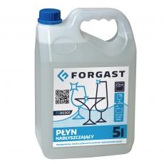 Płyn do płukania naczyń w zmywarkach gastronomicznych Forgast - poj. 5 l<br />model: FG00305<br />producent: Forgast