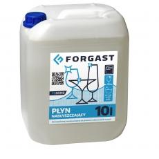 Płyn do płukania naczyń w zmywarkach gastronomicznych Forgast - poj. 10 l<br />model: FG00310<br />producent: Forgast