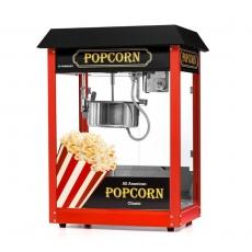 Maszyna do popcornu z czarnym daszkiem<br />model: FG09303/E2<br />producent: Forgast