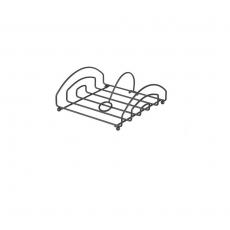 Serwetnik czarny 15,5x16 cm | HENDI 427156<br />model: 427156<br />producent: Hendi