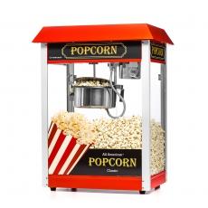 Maszyna do popcornu z czerwonym daszkiem<br />model: FG09302/E1<br />producent: Forgast