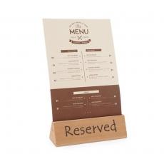 Tabliczka informacyjna Rezerwacja<br />model: 664308<br />producent: Hendi