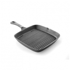 Patelnia żeliwna do grillowania 51x27,4cm<br />model: 629925<br />producent: Hendi