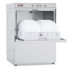 Zmywarka gastronomiczna do naczyń QQ-50T z pompą odpływu<br />model: 00010786/E1<br />producent: Redfox