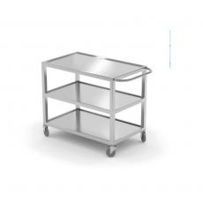 Wózek kelnerski 3-półkowy nierdzewny spawany<br />model: 810224<br />producent: Hendi