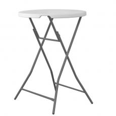 Stół cateringowy koktajlowy śr. blatu 80 cm<br />model: FG03800<br />producent: Forgast