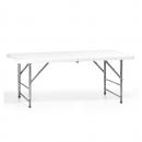 Stół cateringowy składany wym. 122x61x74 cm - FG03802