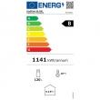 Witryna ekspozycyjna chłodnicza przeszklona 120 l ProfiChef - PC15311 (etykieta energochłonności)