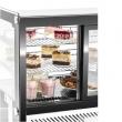 Witryna ekspozycyjna chłodnicza przeszklona 120 l ProfiChef - PC15311