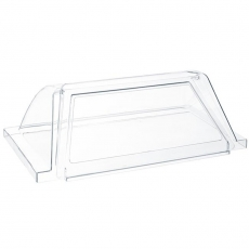 Pokrywa szklana do podgrzewacza rolkowego do parówek<br />model: 268742<br />producent: Hendi
