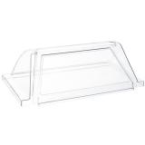 Pokrywa szklana do podgrzewacza rolkowego do parówek
