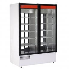 Szafa chłodnicza przeszklona przelotowa<br />model: SCh-2S 1200/U1<br />producent: Rapa