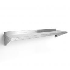 Półka nierdzewna wisząca pojedyncza 120x30 cm<br />model: FG15001<br />producent: Forgast