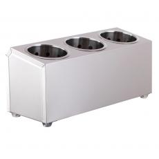 Pojemnik na sztućce 3-częściowy<br />model: FG00301<br />producent: Forgast