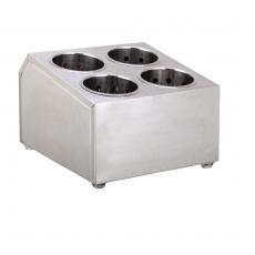 Pojemnik na sztućce 4-częściowy<br />model: FG00302<br />producent: Forgast