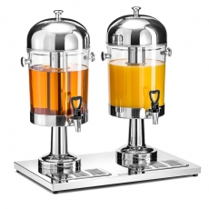 Dozownik do soków podwójny 2x8 l<br />model: FG03228<br />producent: Forgast