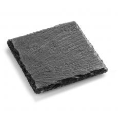 Płyta do prezentacji dań fingerfood z łupku 10x10 cm<br />model: FG03215<br />producent: Forgast