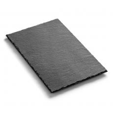 Płyta do prezentacji dań fingerfood z łupku 20x30 cm<br />model: FG03235<br />producent: Forgast