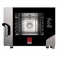 Piec konwekcyjno-parowy elektryczny Millenial Black Mask Bakery 4x600x400<br />model: MKF464BM<br />producent: Hendi