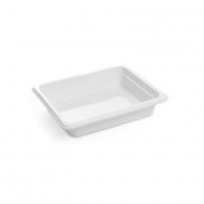 Pojemnik GN 1/2, gł. 6,5 cm porcelanowy biały<br />model: 783016<br />producent: Fine Dine