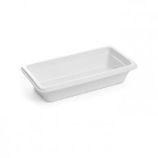 Pojemnik GN 1/3, gł. 6,5 cm porcelanowy biały<br />model: 783023<br />producent: Fine Dine
