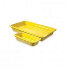 Pojemnik GN 2/3, gł. 6,5 cm porcelanowy żółty<br />model: 783290<br />producent: Fine Dine