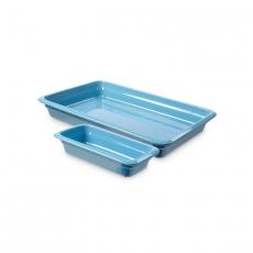 Pojemnik GN 1/2, gł. 6,5 cm porcelanowy niebieski<br />model: 783221<br />producent: Fine Dine
