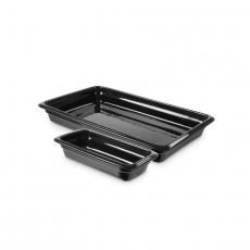 Pojemnik GN 1/2, gł. 6,5 cm porcelanowy czarny<br />model: 783269<br />producent: Fine Dine