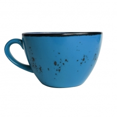 Filiżanka porcelanowa do cappuccino Iris 285 ml<br />model: 778296<br />producent: Fine Dine