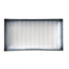 Półmisek prostokątny porcelanowy Silk<br />model: 774717<br />producent: Fine Dine