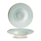 Talerz porcelanowy głęboki Duck Egg Blue śr. 24 cm- SDESVWBM1