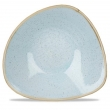 Miska porcelanowa trójkątna Duck Egg Blue śr. 23.5 cm - SDESTRB91