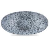 Półmisek porcelanowy Mineral Blue 34.7x17.3 cm MNBLOV351