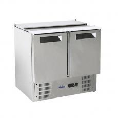 Stół chłodniczy 2-drzwiowy sałatkowy z pokrywą uchylną<br />model: 236161<br />producent: Arktic