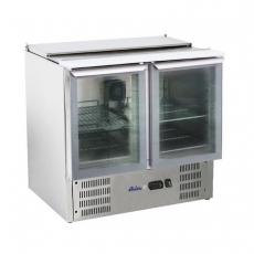 Stół chłodniczy 2-drzwiowy sałatkowy z pokrywą uchylną<br />model: 236246<br />producent: Arktic
