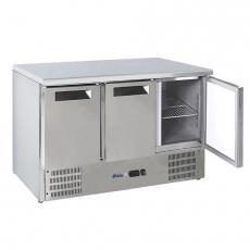 Stół chłodniczy 3-drzwiowy z agregatem dolnym<br />model: 236147<br />producent: Arktic