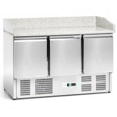 Stół chłodniczy 3-drzwiowy do pizzy<br />model: FG07303<br />producent: Forgast