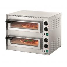 Piec do pizzy 2-komorowy MINI PLUS 2<br />model: 203535<br />producent: Bartscher