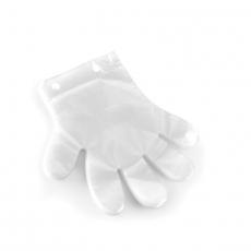 Rękawiczka jednorazowa, foliowa przezroczysta - 100 szt<br />model: 571033<br />producent: Hendi