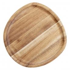 Talerz drewniany 20x20 cm<br />model: V-30063<br />producent: Verlo