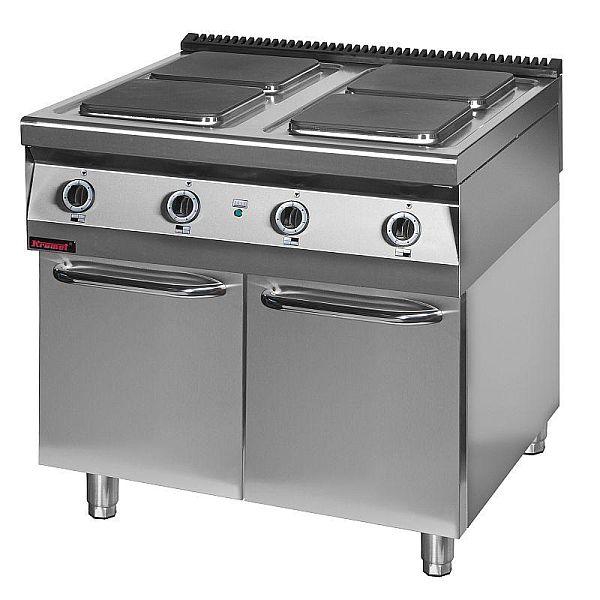 Kuchnia gastronomiczna elektryczna 4 płytowa 900 KE 4 -> Kuchnia Elektryczna Gastronomiczna Używana
