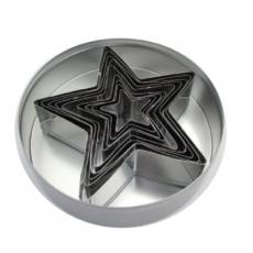 Zestaw form do wycinania - gwiazda<br />model: FG11725<br />producent: Forgast