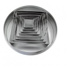 Zestaw form do wycinania - kwadrat<br />model: FG11015<br />producent: Forgast