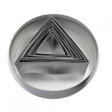 Zestaw form do wycinania - trójkąt<br />model: FG11014<br />producent: Forgast
