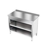 Stół roboczy nierdzewny 2-półkowy E1050/1000/600