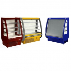 Regał chłodniczy PICCOLII<br />model: R-1 PC 90/70<br />producent: Juka