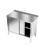 Stół roboczy nierdzewny z szafką E1100/1100/700