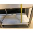 Stół nierdzewny ze zlewem 1-komorowym i półką - E2041/1700/700/E1